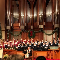 Photo taken at First United Methodist Church Richardson by ℒeslie W. on 12/25/2016