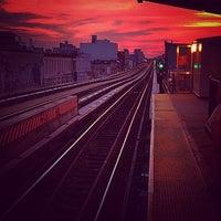 Photo taken at Gates Avenue Station (J) by Jesse S. on 6/29/2014