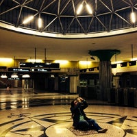 Photo taken at Metro Olivais [VM] by Sara F. on 2/16/2014