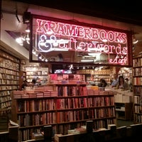 Photo taken at Kramerbooks & Afterwords Cafe by Edmond L. on 8/11/2013