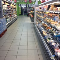 Photo taken at Carrefour Contact Leffrinckoucke by Dean O. on 12/17/2012