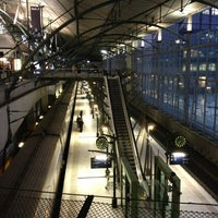 Photo taken at Lille Europe Railway Station by Dean O. on 12/28/2012