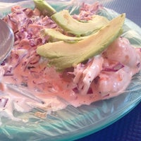 Photo taken at Mariscos Towi by Andrea H. on 3/23/2014