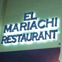 Photo taken at El Mariachi by Caio B. on 10/23/2012