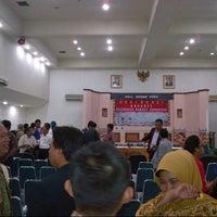 Photo taken at Gedung Dewan Pers by Jeffrey James S. on 8/19/2013