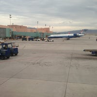 Photo taken at Albuquerque International Sunport (ABQ) by Mauro C. on 7/11/2013
