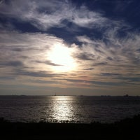 Photo taken at Point Ormond by Adam R. on 5/11/2013