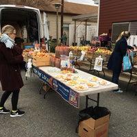 Photo taken at Del Ray Farmers' Market by Kathy K. on 1/28/2017