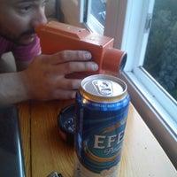 Photo taken at esra and mahir 's beer center by Ömer B. on 4/2/2014