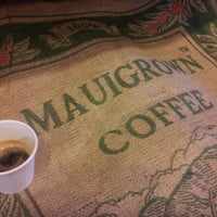 Photo taken at MauiGrown Coffee Company Store by Dev on 12/4/2012