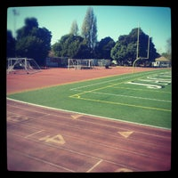 Photo taken at Berkeley High School by Dev on 10/13/2012