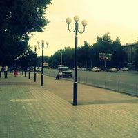 Photo taken at Gagarin street by Fera F. on 6/26/2013