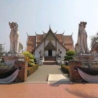 Photo taken at Wat Phu Mintr by nooknook ⭐. on 3/3/2017