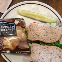 Photo taken at Corner Bakery Cafe by Valeska M. on 7/3/2013