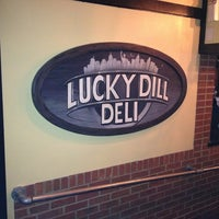 Photo taken at The Lucky Dill by Michael D. on 2/9/2013