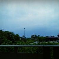 Photo taken at Bandar Seri Putra 8/1 by Muaz H. on 4/26/2013