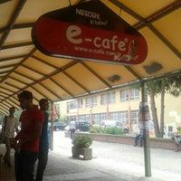 Photo taken at E-Cafe by Görkem Ö. on 5/23/2013