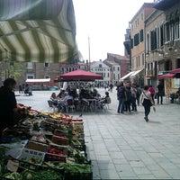 Photo taken at Campo Santa Margherita by Giuseppe M. on 4/26/2013