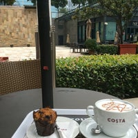 Photo taken at Costa Coffee (咖世家) by Umut A. on 7/6/2014