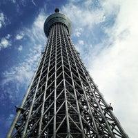 Photo taken at Tokyo Skytree by SuperKAMe on 7/28/2013