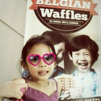 Photo taken at Famous Belgian Waffles by Rissa M. on 6/1/2013