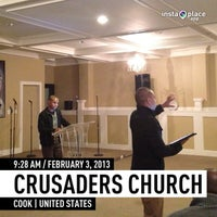 Photo taken at Crusaders Church by Huggi W. on 2/3/2013
