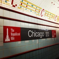 Photo taken at CTA - Chicago (Red) by Huggi W. on 3/13/2013
