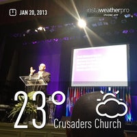 Photo taken at Crusaders Church by Huggi W. on 1/20/2013