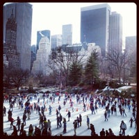 Photo taken at Wollman Rink by brendan w. on 12/31/2012