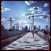 Photo taken at Pier 25 - Hudson River Park by brendan w. on 3/30/2013