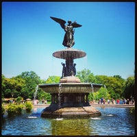 Photo taken at Bethesda Fountain by brendan w. on 8/24/2013