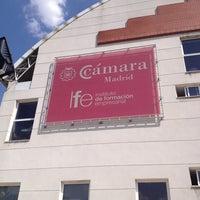 7/15/2013に Victor G.がInstituto de Formación Empresarial de la Cámara de Madrid (IFE)で撮った写真
