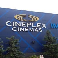 Photo taken at Cineplex Cinemas Courtney Park by Jevon T. on 8/31/2013