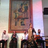 Photo taken at El Tablao de Carmen by Dinara K. on 8/11/2013