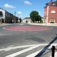 Photo taken at Plac Czerwony by Tomasz C. on 7/7/2013