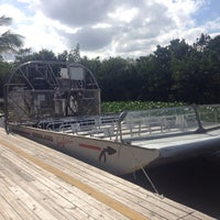 Photo taken at Airboat In Everglades by JiRka M. on 11/24/2015
