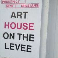 Art house on the levee