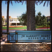 Photo taken at JW Marriott Phoenix Desert Ridge Resort & Spa by Jason S. on 5/9/2013