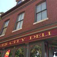 Photo taken at Blues City Deli by Matthew M. on 10/4/2012