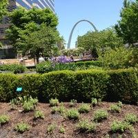 Photo taken at Citygarden by Matthew M. on 5/13/2013