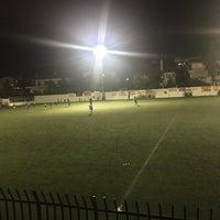 Photo taken at Γήπεδο Ποδοσφαίρου Μελισσίων by Streetlife VA on 12/16/2017