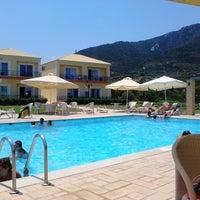 Photo taken at Kalloni Resort by Joan Κ. on 7/7/2013