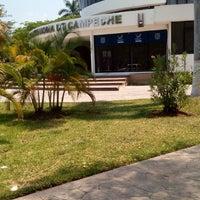Photo taken at Universidad Autónoma de Campeche by Iván B. on 4/27/2016