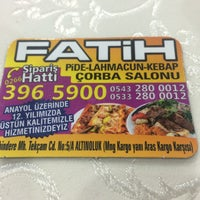Photo taken at Fatih Pide Salonu by Necati U. on 5/18/2016