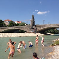 Photo taken at Wittelsbacherbrücke by Kerstin Klein on 6/19/2013
