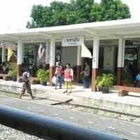Photo taken at Taphan Hin Railway Station (SRT1099) by jirat t. on 6/27/2013