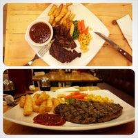 Photo taken at Gowagyu Steak by B D. on 10/13/2014