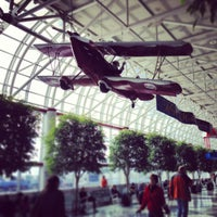 Photo taken at Charlotte Douglas International Airport (CLT) by Louay K. on 1/6/2013