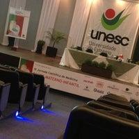 Photo taken at Universidade do Extremo Sul Catarinense - UNESC by Lucila Helena S. on 6/7/2013