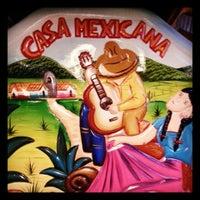 Photo taken at La Casa Mexicana by Alfredo M. on 9/1/2013